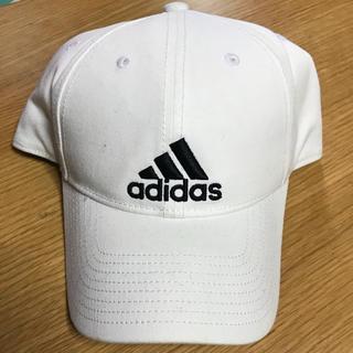 アディダス(adidas)のadidas アディダス キャップ 白(キャップ)