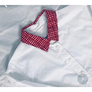 チャイルドウーマン(CHILD WOMAN)のチャイルドウーマン赤チェックシャツ(シャツ/ブラウス(長袖/七分))