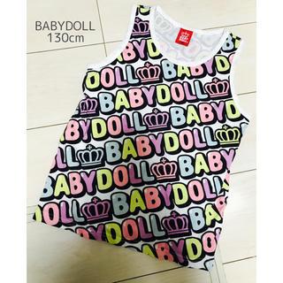ベビードール(BABYDOLL)の美品■BABYDOLL■タンクトップ■130cm(Tシャツ/カットソー)