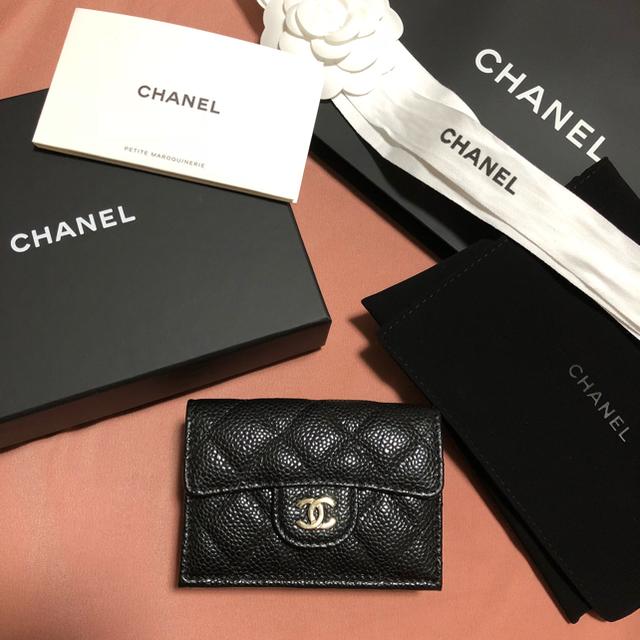 get cheap e198e 00668 CHANEL ミニウォレット 三つ折り ミニ財布 | フリマアプリ ラクマ