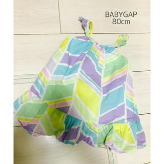 ベビーギャップ(babyGAP)のBABYGAP■ワンピース■80cm(ワンピース)