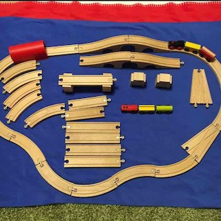 IKEA 列車セット(積み木/ブロック)