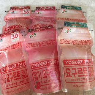 韓国 人気 ヨーグルトグミ 6袋セット(菓子/デザート)