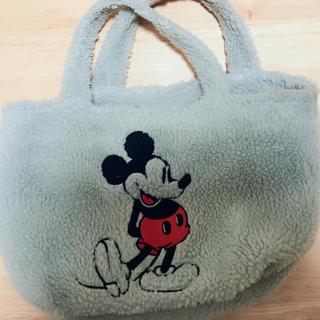 ディズニー(Disney)のディズニー トートバッグ ミッキー もふもふ(トートバッグ)