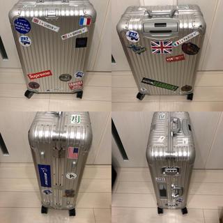 リモワ(RIMOWA)のリモワ RIMOWA スーツケース 電子タグ 82L(旅行用品)