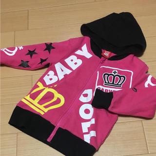 ベビードール(BABYDOLL)のBABY DOLLパーカー100cm(Tシャツ/カットソー)