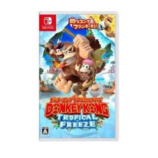 ニンテンドースイッチ(Nintendo Switch)の即日発送🎮Switch ドンキーコング トロピカルフリーズ(家庭用ゲームソフト)