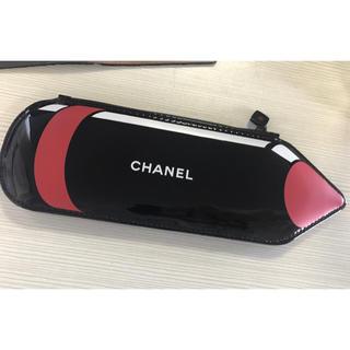 シャネル(CHANEL)のシャネル  クレヨン型 ポーチ 新品未使用 ミニポーチ ペンケース(ポーチ)