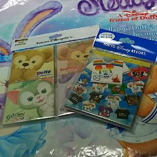 ディズニー(Disney)のディズニー  Tシャツ折り紙メモ  ダッフィー&フレンズメモ(ノート/メモ帳/ふせん)