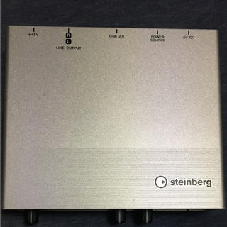 steinbergUR12(オーディオインターフェイス)