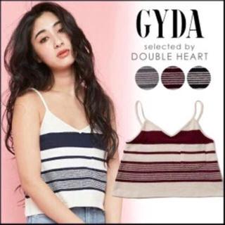 ジェイダ(GYDA)のジェイダ  キャミ トップス 赤(Tシャツ(半袖/袖なし))