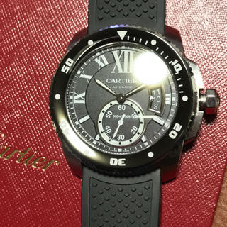 カルティエ(Cartier)のCARTIER カリブルダイバー 国内正規品 ❷ページ差額分(腕時計(アナログ))