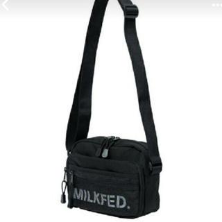 ミルクフェド(MILKFED.)のMILKFED ショルダーバッグ(ショルダーバッグ)