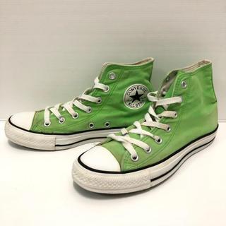 コンバース(CONVERSE)のA69 ★ 24.5cm★コンバース114052 クラッシックグリーン緑色(スニーカー)