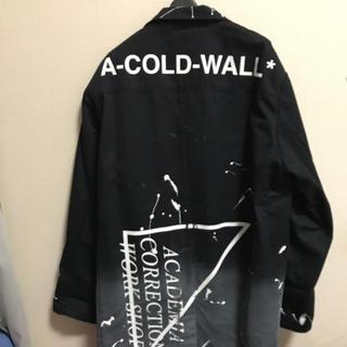 オフホワイト(OFF-WHITE)のa cold wall warehouse coat コート(トレンチコート)