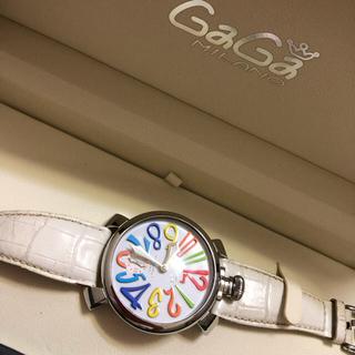ガガミラノ(GaGa MILANO)のガガミラノ GaGaMILANO 腕時計  マヌアーレ48MM 5010.01S(腕時計(アナログ))