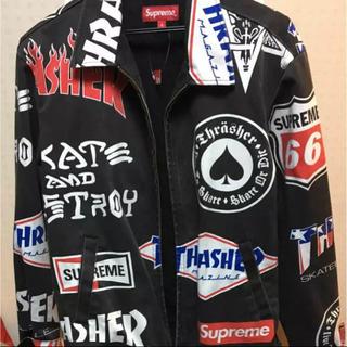 シュプリーム(Supreme)のSupreme×Thrasher Work Jacket(その他)
