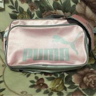 プーマ(PUMA)のPUMA  エナメルバッグ  ピンク(その他)