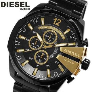ディーゼル(DIESEL)の新品 セール価格 ディーゼル メンズ腕時計 ブラック&ゴールド DZ4338(腕時計(アナログ))