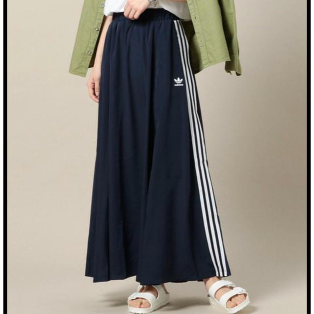 adidas(アディダス)のM♡adidas BEAUTY&YOUTH コラボ ロングスカート レディースのスカート(ロングスカート)の商品写真