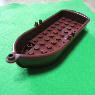 レゴ(Lego)のレゴ-LEGO★ボート船[新茶]5x14x2★かわいいインテリア等に★新品(積み木/ブロック)