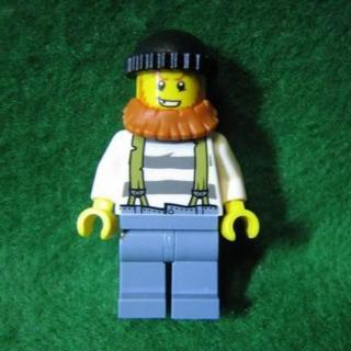 レゴ(Lego)の★フィグ★あご鬚を蓄えたワイルドおじさん★レゴ-LEGO★新品★送料無料(積み木/ブロック)