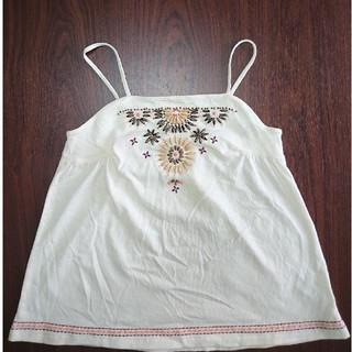 ギャップキッズ(GAP Kids)のGAP KIDS ビーズ刺繍キャミソール 130cm(Tシャツ/カットソー)