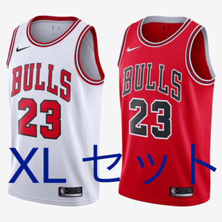 ナイキ(NIKE)のNike bulls jersey Michael Jordan NBA(タンクトップ)