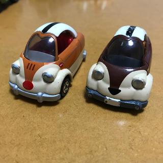 ディズニー(Disney)のトミカ ディズニーモータース チップとデール DM-17 中古 ミニカー(ミニカー)