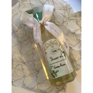 サボン(SABON)の【23日迄】SABON green rose シャワーオイル【送料無料】(ボディソープ / 石鹸)