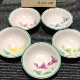 コウランシャ(香蘭社)の香蘭社 シクラメン 深皿 5枚セット(食器)