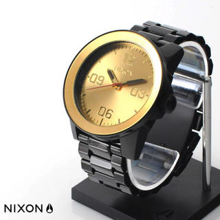 ニクソン(NIXON)のNIXON CORPORAL SS BLACK GOLD(腕時計(アナログ))
