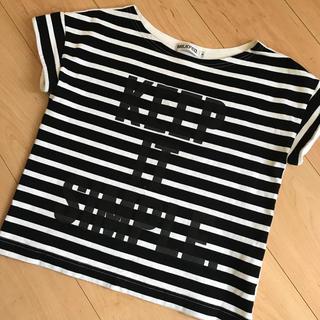 ミルクフェド(MILKFED.)の美品 MILK  FED ボーダーT(Tシャツ(半袖/袖なし))