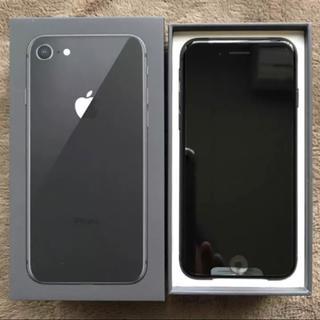 アップル(Apple)の新品未使用 simロック解除済み docomo iPhone8 64GB(スマートフォン本体)
