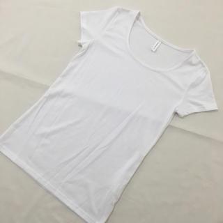 シマムラ(しまむら)のしまむら/Tシャツ/白/M/新品(Tシャツ(半袖/袖なし))