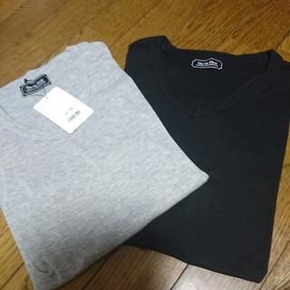 【新品】nano universe(ナノユニバース)☆半袖Tシャツ2枚セット