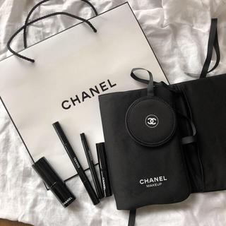 シャネル(CHANEL)のシャネル 新品 ブラシ ポーチセット(コフレ/メイクアップセット)
