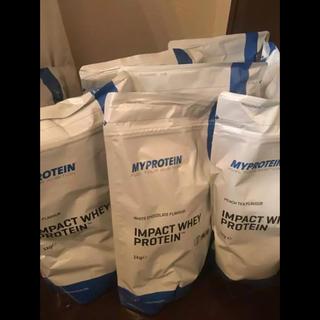 マイプロテイン(MYPROTEIN)のマイプロテイン  インパクトホエイ 1キロ味各種2セット(プロテイン)