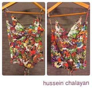 チャラヤン(CHALAYAN)のchalayan 2wayキャミソール(キャミソール)