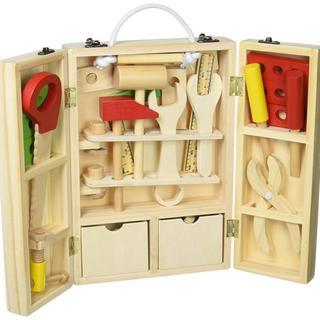 大人気★即日発送!収納できる 木製ツールボックス d7(積み木/ブロック)
