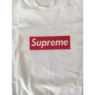 シュプリーム(Supreme)のsupremeボックスロゴTシャツ シュプリーム(Tシャツ/カットソー(半袖/袖なし))