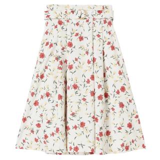 dazzlin - ♡美品♡Dazzlin ミルフルール フラワー柄 膝丈スカート