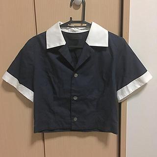 ジーヴィジーヴィ(G.V.G.V.)のG.V.G.V. ボーリングシャツ風(シャツ/ブラウス(半袖/袖なし))