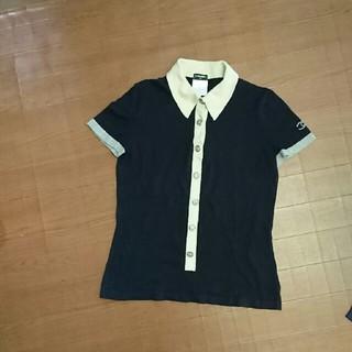 CHANEL - シャネル☆ニットポロシャツ