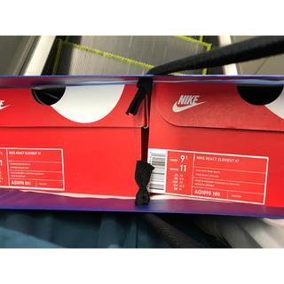ナイキ(NIKE)の Nike React Element ホワイト 27.5cm(スニーカー)