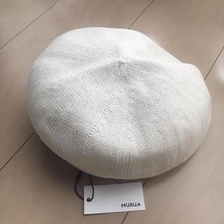 ムルーア(MURUA)のmurua サマーベレー帽 (ハンチング/ベレー帽)