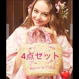 Maison de FLEUR - 超レア♡大人気♡即完売❤️フレンチリボン浴衣❤️メゾンドフルール2018年最新作