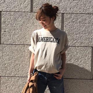 アメリカーナ(AMERICANA)のアメリカーナamericana  Tシャツ Deuxieme Classe(Tシャツ(半袖/袖なし))