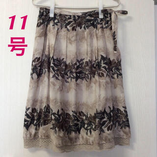 リフレクト(ReFLEcT)のsmart pink 裾レーススカート (ひざ丈スカート)
