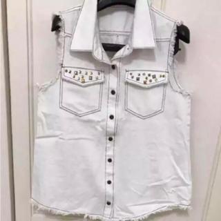 ムルーア(MURUA)のムルーアのノースリーブのシャツ(シャツ/ブラウス(半袖/袖なし))